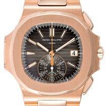 Patek Philippe Nautilus 5980/1R-001 Unworn Rose gold 40.5mm Automatic