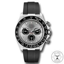 Rolex Daytona Or blanc 40mm Gris Sans chiffres France, Paris