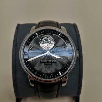 Arnold & Son HM Perpetual Moon Steel 42mm Black No numerals