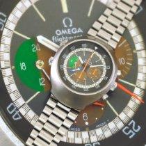 Omega Flightmaster Çelik 42,9mm Kahverengi
