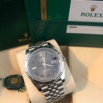 Rolex Datejust Acier 41mm Gris Sans chiffres France, Bastia