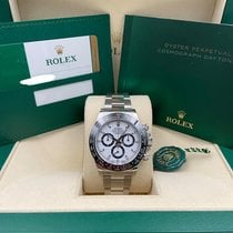 Rolex Daytona Steel 40mm White No numerals United States of America, New York, New York
