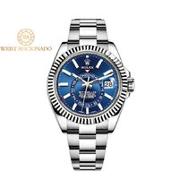 Rolex Sky-Dweller Gold/Steel 42mm Blue United States of America, New York, New York