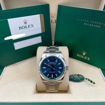 Rolex Milgauss Steel 40mm Blue No numerals United States of America, New York, New York