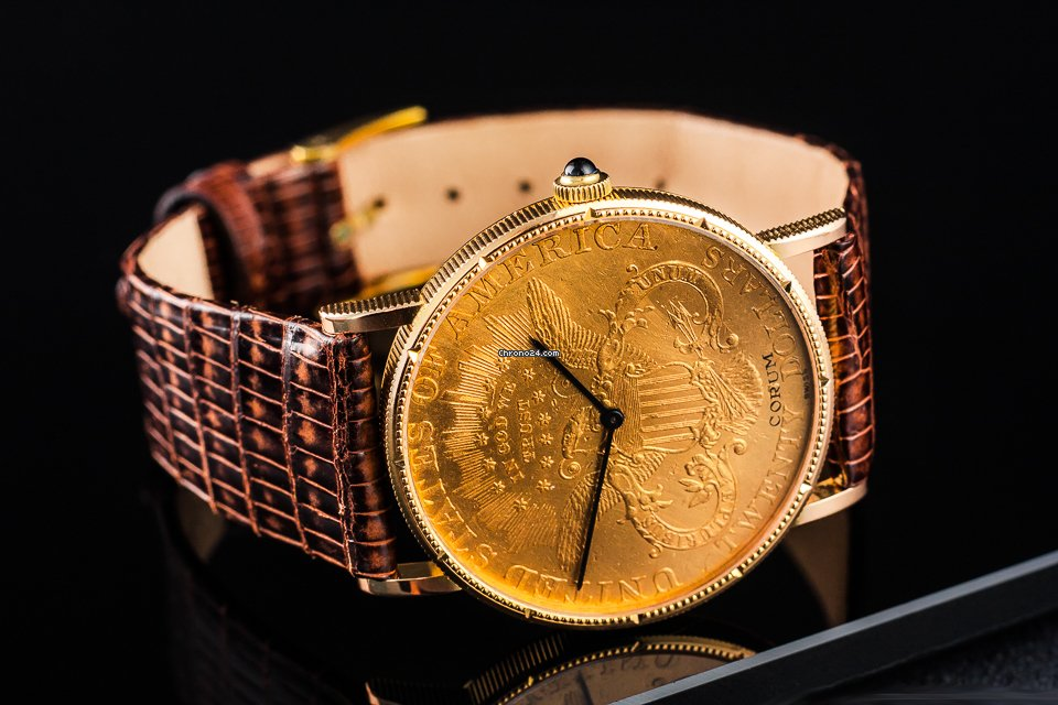 Corum Coin Watch 1996 pre-owned