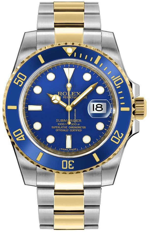 Rolex Submariner Date Rolex 116613LB 2019 pre-owned