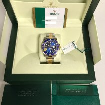 Rolex Submariner Date Gold/Steel Blue No numerals United States of America, Georgia, Alpharetta