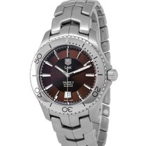 TAG Heuer Link Calibre 5 Steel 41mm Brown