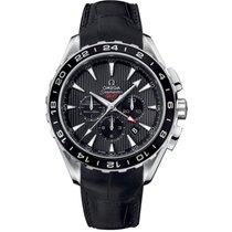Omega Seamaster Aqua Terra occasion 44mm Gris Chronographe Date Plis