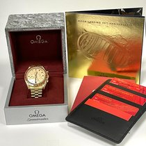 Omega 310.60.42.50.99.001 Yellow gold 2021 Speedmaster 42mm new United States of America, Iowa, Des Moines