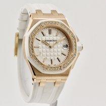 Audemars Piguet Royal Oak Offshore Lady Pозовое золото 37mm Белый Без цифр