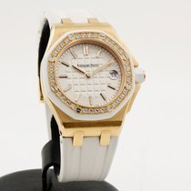 Audemars Piguet Royal Oak Offshore Lady Aur roz 37mm Alb Fara cifre