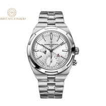 Vacheron Constantin Overseas Dual Time Steel 41mm Silver No numerals United States of America, New York, New York