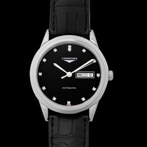 Longines Flagship Steel 38.50mm Black United States of America, California, San Mateo