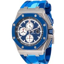 Audemars Piguet Royal Oak Offshore Chronograph Steel 44mm Blue United States of America, New York, Hartsdale
