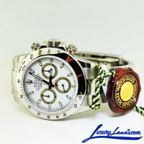 Rolex Daytona Steel 40mm White No numerals United States of America, New York, Massapequa