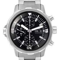 IWC Steel Automatic Black 44mm new Aquatimer Chronograph