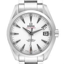 Omega Seamaster Aqua Terra Acier 38.5mm Blanc