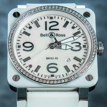 Bell & Ross BR 03-92 Ceramic BR0392-WH-C-D/SCA tweedehands