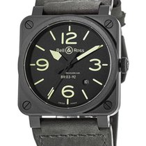 Bell & Ross BR 03-92 Ceramic BR0392-BL3-CE/SCA 2019 new