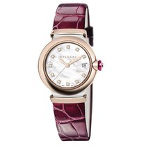 Bulgari Lucea Gold/Steel 33mm Mother of pearl No numerals United States of America, New York, New York