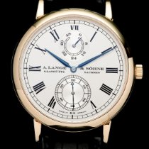 A. Lange & Söhne Yellow gold pre-owned Langematik