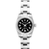 Rolex Oyster Perpetual 26 Steel 24mm Black Arabic numerals United States of America, Georgia, Atlanta