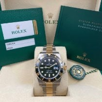 Rolex Submariner Date Gold/Steel 40mm Black No numerals United States of America, New York, New York