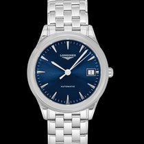 Longines Steel 35.6mm Automatic L47744926 new United States of America, California, San Mateo