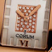 Corum Tabogan Oro rosa 24mm Plata Romanos