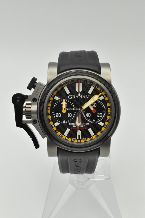 Graham Chronofighter Oversize 2OVATCO.B01A.K10B pre-owned