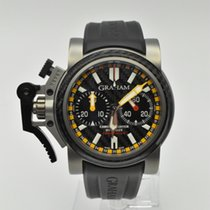 Graham Chronofighter Oversize Titanio 46mm Gris Sin cifras