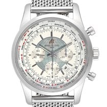 Breitling Transocean Chronograph Unitime 46mm Silver United States of America, Georgia, Atlanta