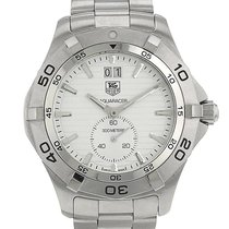 TAG Heuer pre-owned Quartz 40mm Silver Sapphire crystal 10 ATM