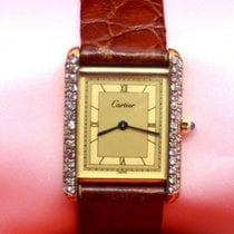 Cartier Tank Vermeil 23mm Gold Roman numerals United States of America, New York, New York