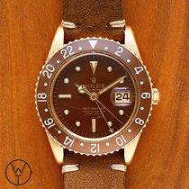 Rolex GMT-Master Жёлтое золото 40mm Коричневый