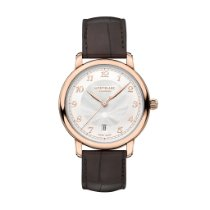 Montblanc Rose gold Automatic White Arabic numerals 43mm new Star