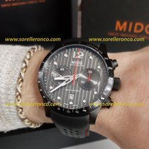 Mido Multifort Chronograph M025.627.36.061.00  Mido Multifort Crono Acciaio Nero 44mm 2020 nouveau
