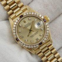 Rolex Datejust Желтое золото 26mm Цвета шампань