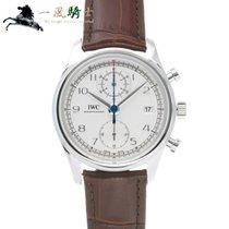 IWC Portuguese Chronograph Acero 42mm Plata
