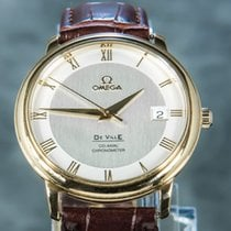 Omega De Ville Co-Axial Rose gold 37mm White Roman numerals