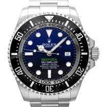 Rolex Sea-Dweller Deepsea Aço 44mm Azul
