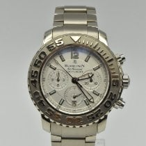 Blancpain Air Command White gold 40.5mm Silver No numerals United States of America, Texas, Houston