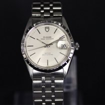Tudor Prince Date Steel 34mm White