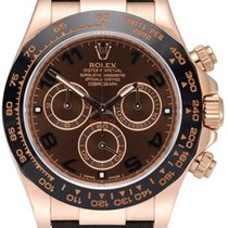 Rolex Daytona Rose gold 40mm Brown Arabic numerals United States of America, New York, New York