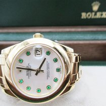 Rolex Pearlmaster Yellow gold 34mm Mother of pearl UAE, Abu Dhabi