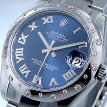 Rolex Lady-Datejust Acero 31mm Azul Romanos