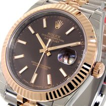 Rolex Datejust II Acero y oro 41mm Marrón