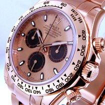 Rolex Daytona Pозовое золото 40mm Розовый