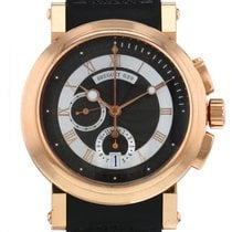 Breguet Or rose Remontage automatique Romains 42mm occasion Marine